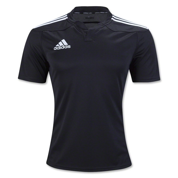 adidas Three Stripe 13 Rugby Jersey (Black)