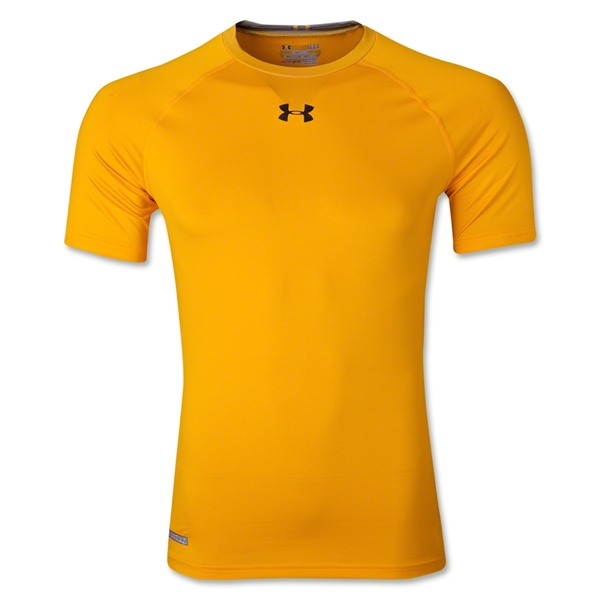 Under Armour Heatgear Sonic Compression T-Shirt (Gold)