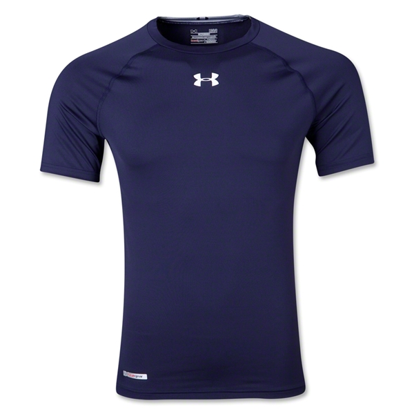 Under Armour Heatgear Sonic Compression T-Shirt (Navy)