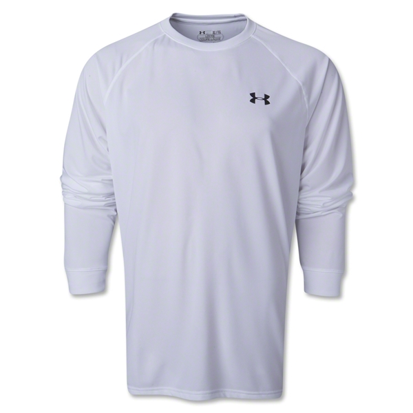 Under Armour Tech LS T-Shirt (White)