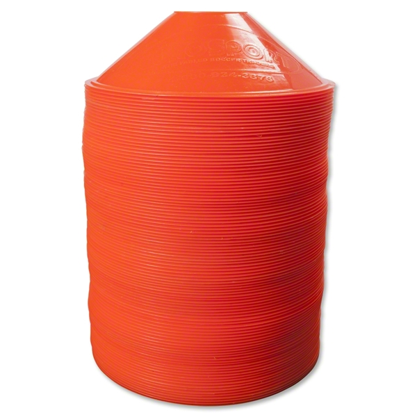 Disc Cone-Set of 100 (Orange)