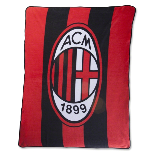 AC Milan Crest Fleece Blanket