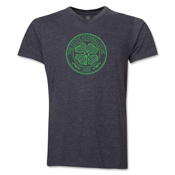 Celtic V-Neck T-Shirt (Dark Gray)