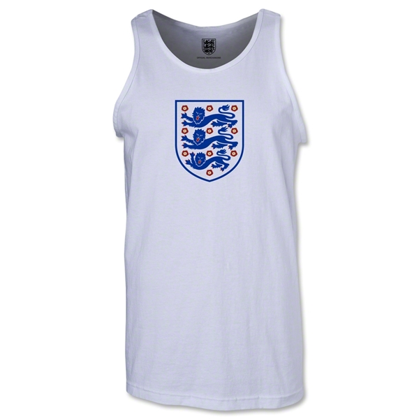 England Core Tank Top (White)