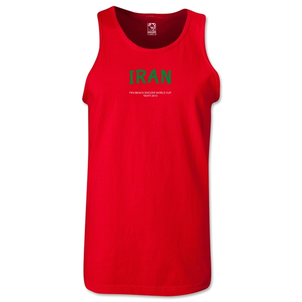Iran FIFA Beach World Cup 2013 Tanktop (Red)