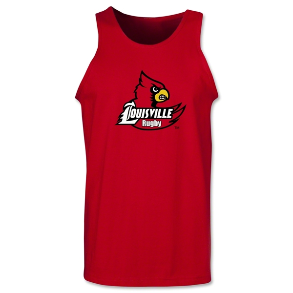 University of Louisville Rugby Tank Top (Red)
