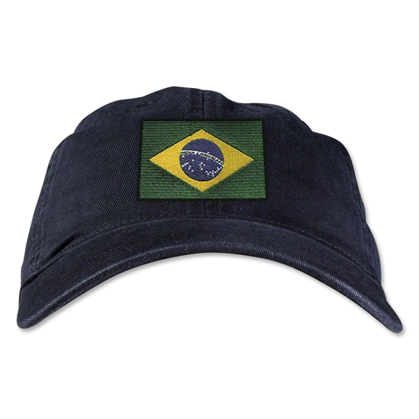 Brazil Unstructured Adjustable Cap (Black)