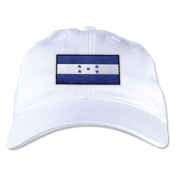 Honduras Unstructured Adjustable Cap (White)