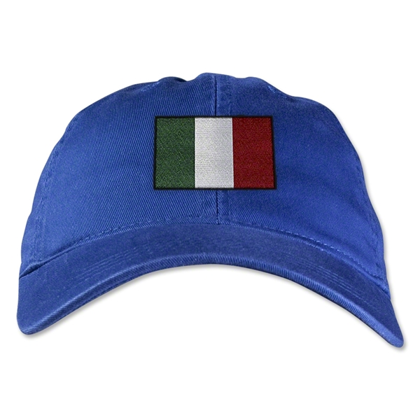 Italy Unstructured Adjustable Cap (Royal)