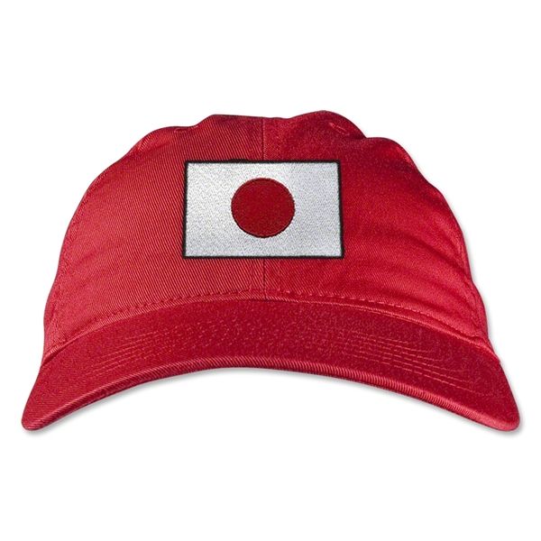 Japan Unstructured Adjustable Cap (Red)