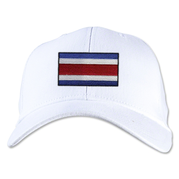 Costa Rica Flexfit Cap (White)
