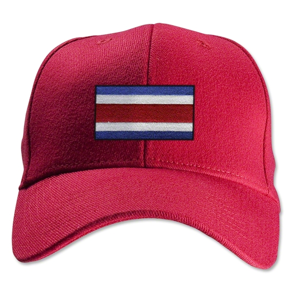 Costa Rica Flexfit Cap (Red)