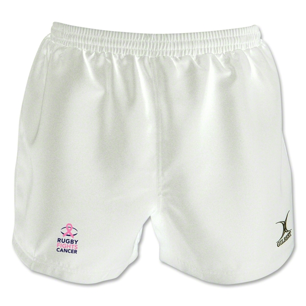 Rugby Fights Cancer Saracen Short (White)