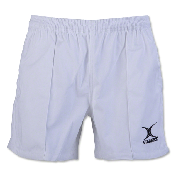 Gilbert Kiwi Pro Rugby Short (White)