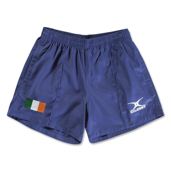 Ireland Flag Kiwi Pro Rugby Shorts (Navy)