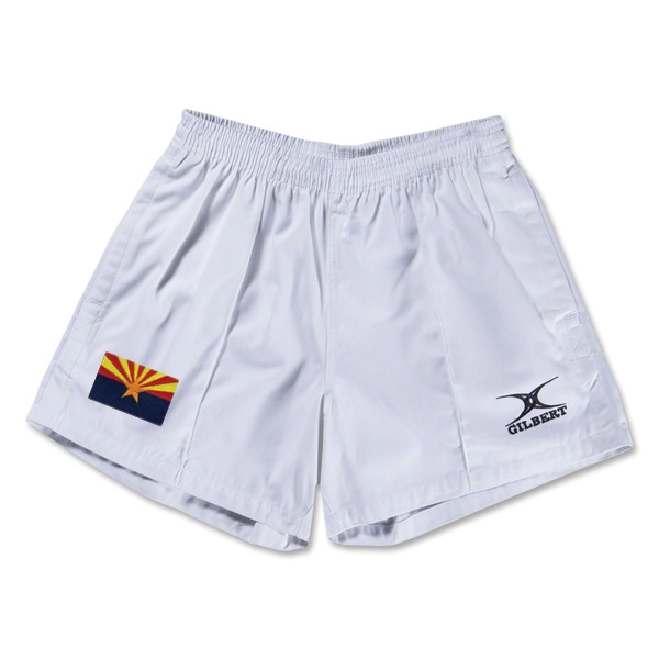 Arizona Flag Kiwi Pro Rugby Shorts (White)