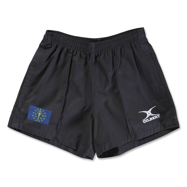 Indiana Flag Kiwi Pro Rugby Shorts (Black)