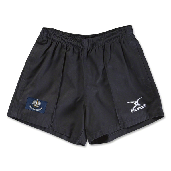 Louisiana Flag Kiwi Pro Rugby Shorts (Black)