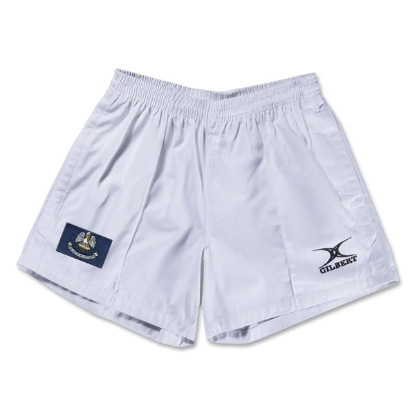 Louisiana Flag Kiwi Pro Rugby Shorts (White)