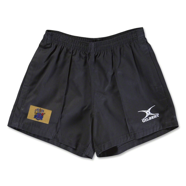 New Jersey Flag Kiwi Pro Rugby Shorts (Black)