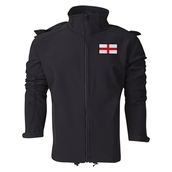 England Performance Softshell Jacket (Black)