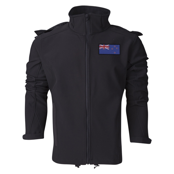 New Zealand Performance Softshell Jacket (Black)