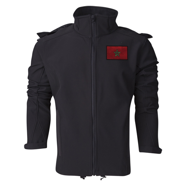 Morocco Performance Softshell Jacket (Black)