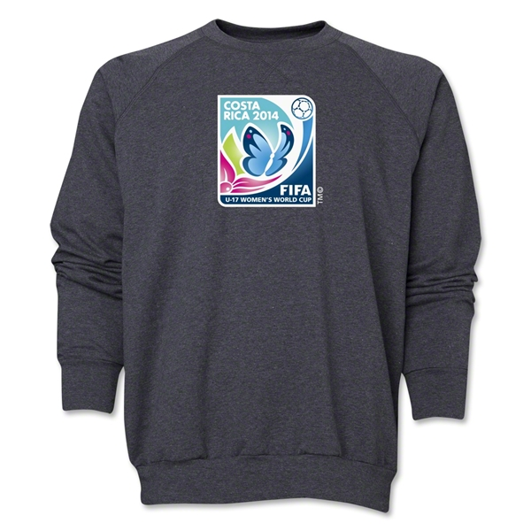 FIFA U-17 Women's World Cup Costa Rica 2014 Core Crewneck Fleece (Grey)