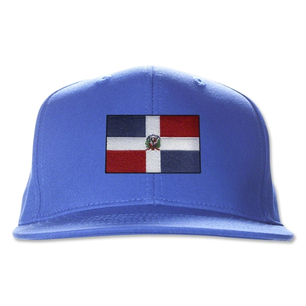 Dominican Republic Flatbill Cap (Royal)