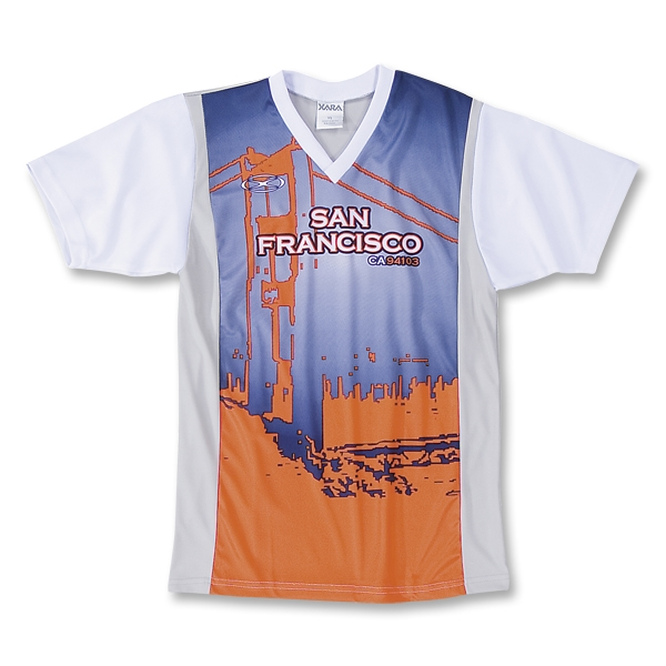 Xara San Francisco City Soccer Jersey