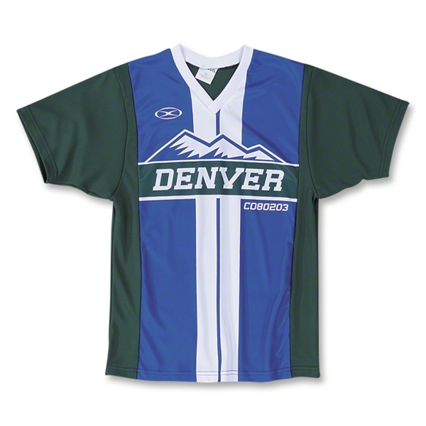Xara Denver City Soccer Jersey