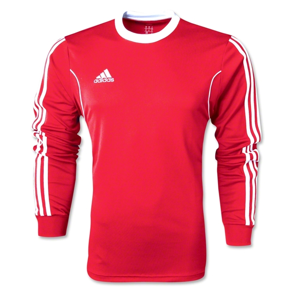 adidas Squadra 13 Long Sleeve Jersey (Sc/Wh)