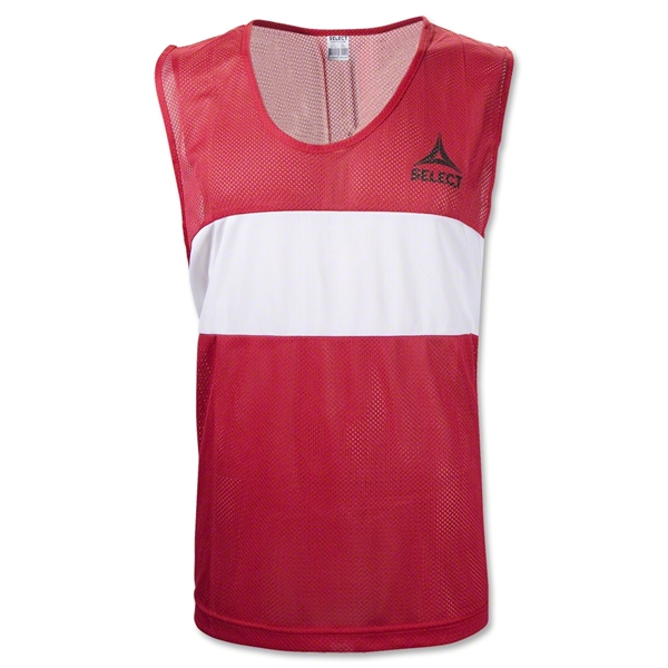 Select Over-Vest Training Bib (Red)