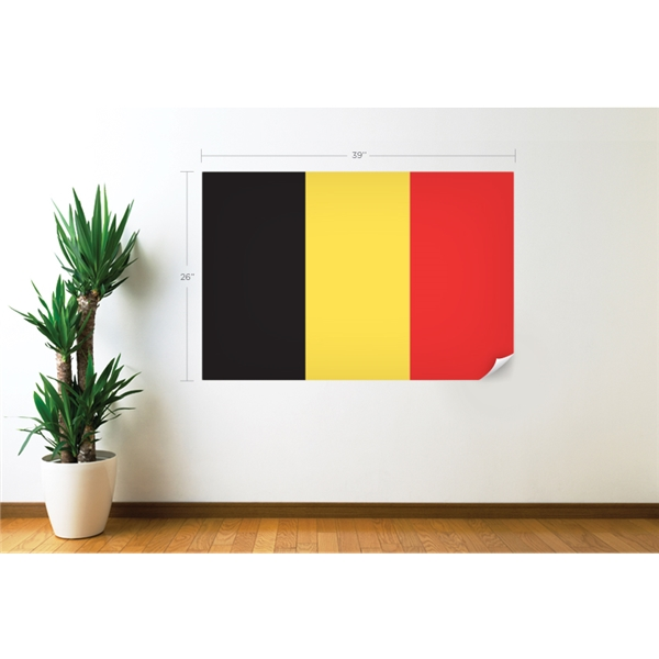 Belgium Flag Wall Decal