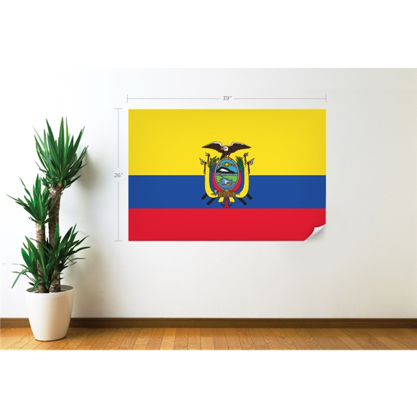 Ecuador Flag Wall Decal