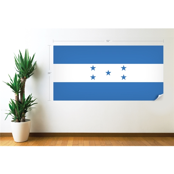 Honduras Flag Wall Decal