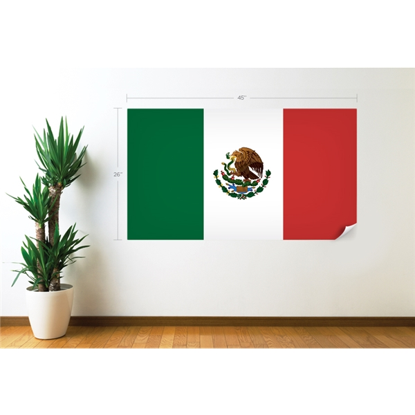 Mexico Flag Wall Decal
