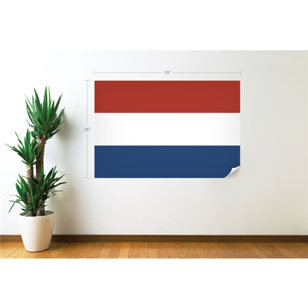 Netherlands Flag Wall Decal