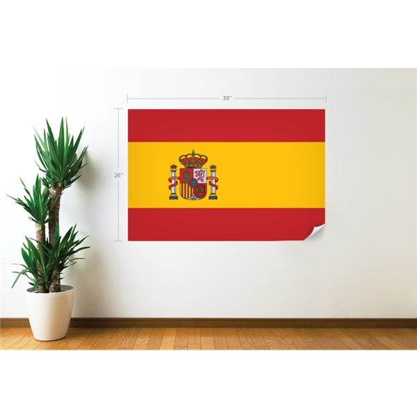 Spain Flag Wall Decal