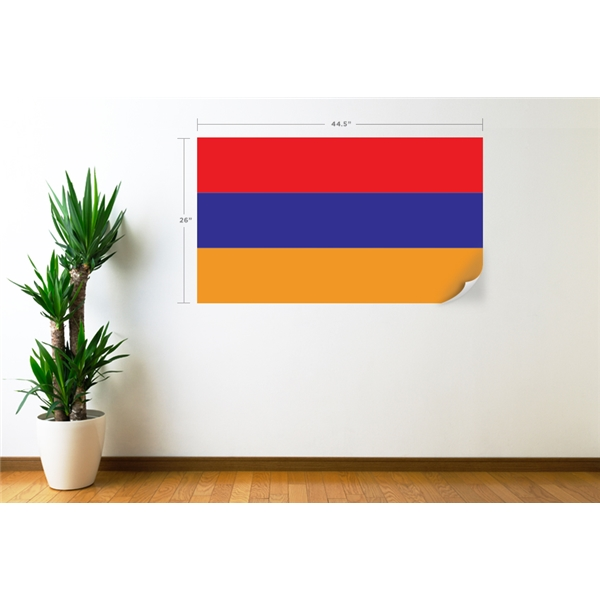 Armenia Flag Wall Decal