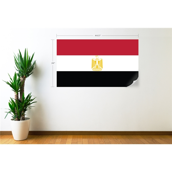 Egypt Flag Wall Decal