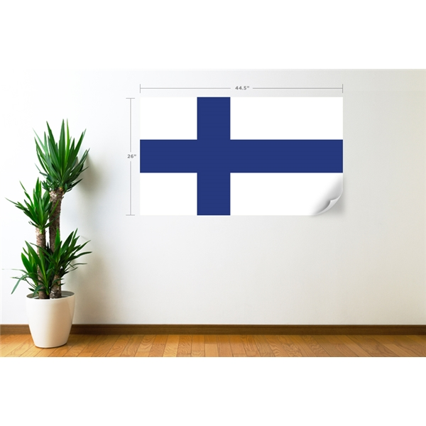 Finland Flag Wall Decal