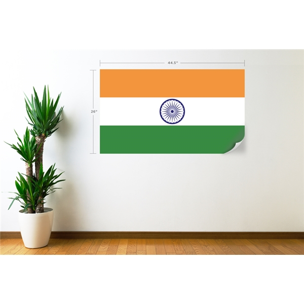 India Flag Wall Decal