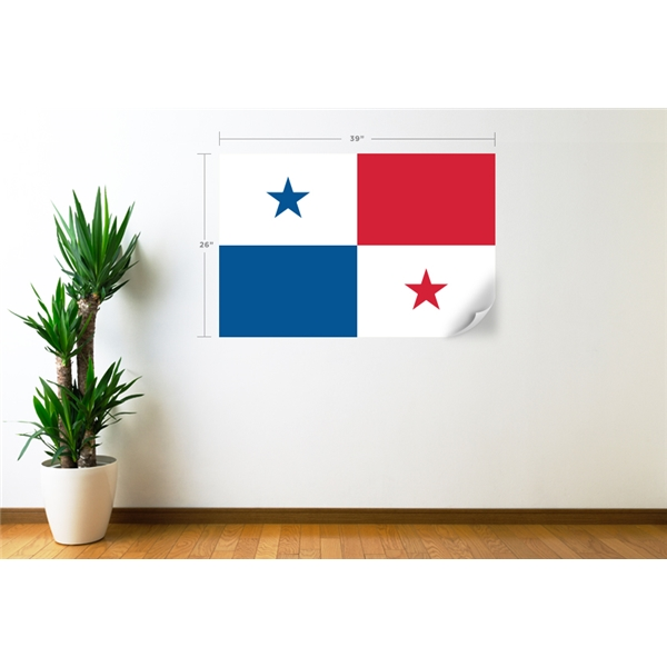 Panama Flag Wall Decal