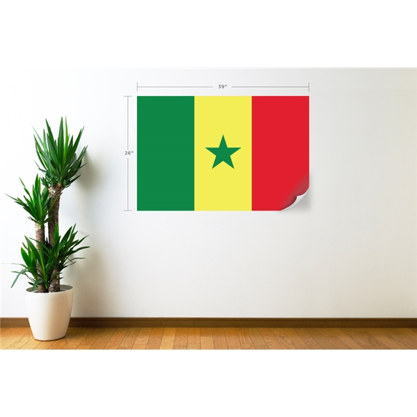 Senegal Flag Wall Decal