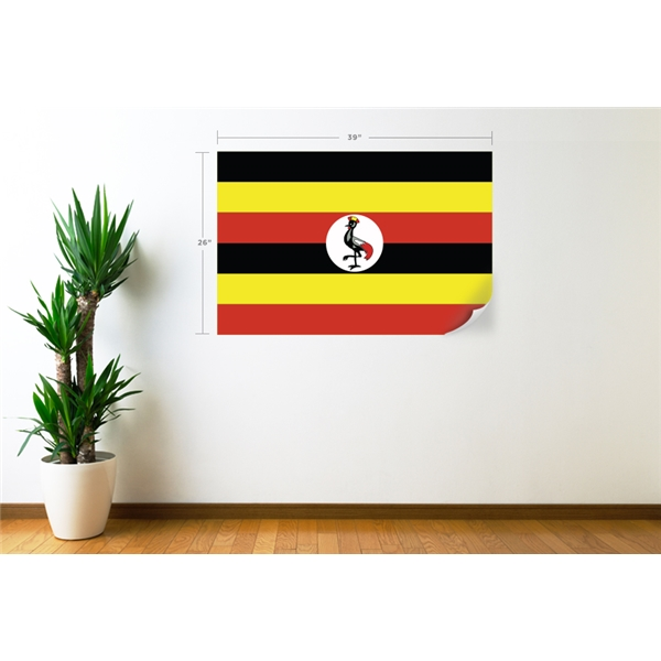 Uganda Flag Wall Decal