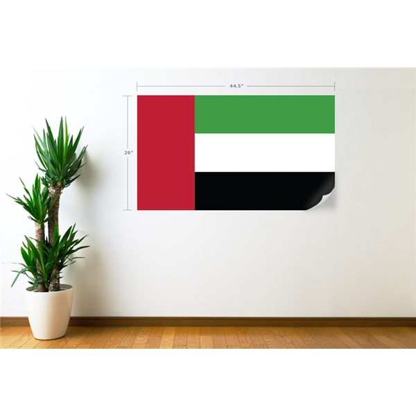United Arab Emirates Flag Wall Decal