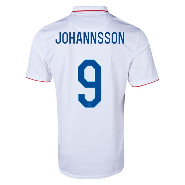 USA 14/15 JOHANNSSON Home Soccer Jersey