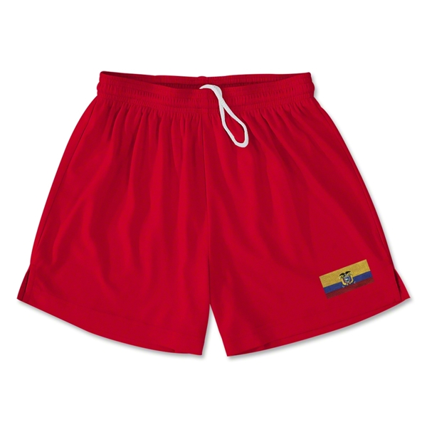 Ecuador Team Soccer Shorts (Red)