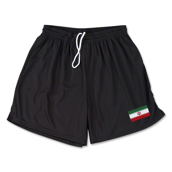 Iran Team Soccer Shorts (Black)